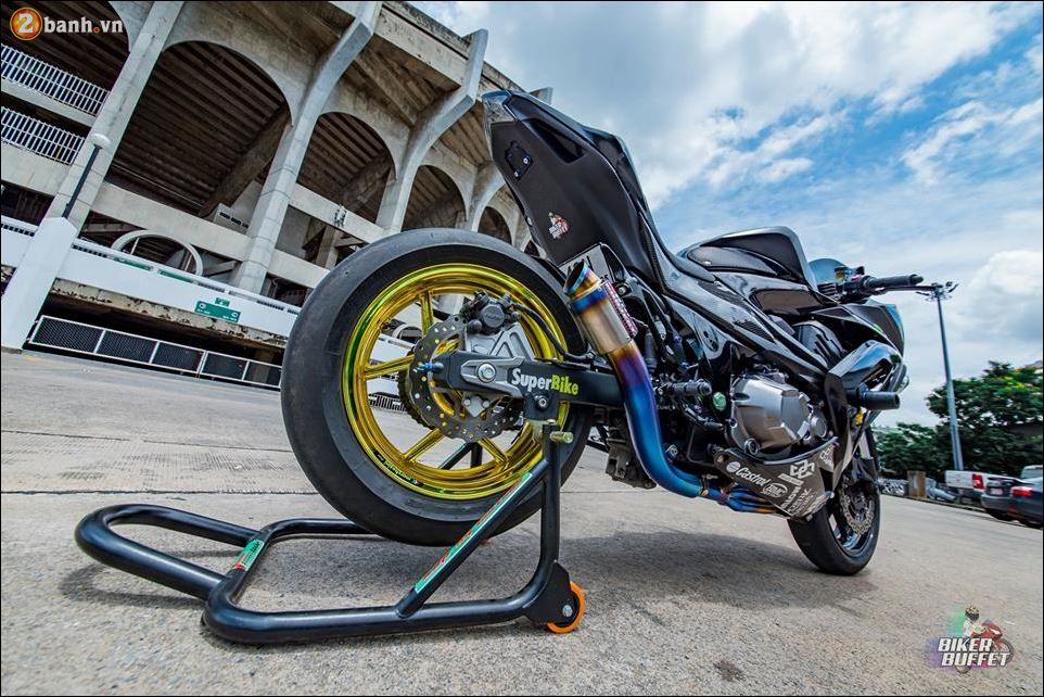 Kawasaki Z800 ban do custom ZX8R limited hoan hao