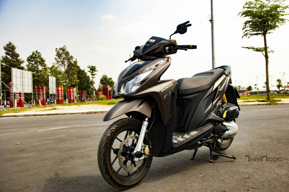 Honda Click 125 day an tuong voi dan do choi cuc chat - 5