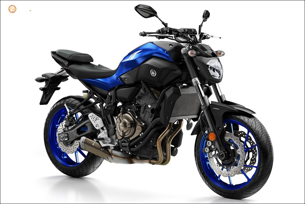 So sanh ve su thay doi giua thiet ke Yamaha MT07 2018 vs MT07 2017 - 3