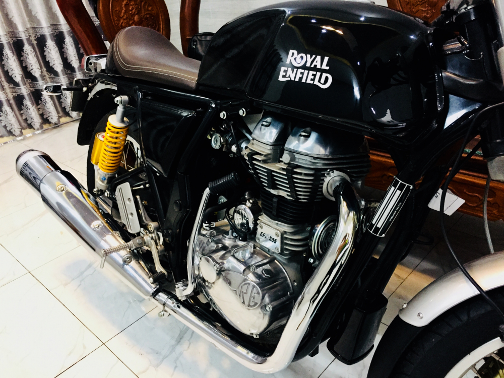 Xin phep ad Thanks ad Royal Enfield Continental GT535 caferacer HQCN 2017 Xe - 12