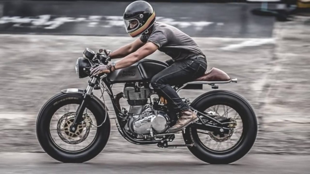 Xin phep ad Thanks ad Royal Enfield Continental GT535 caferacer HQCN 2017 Xe - 13