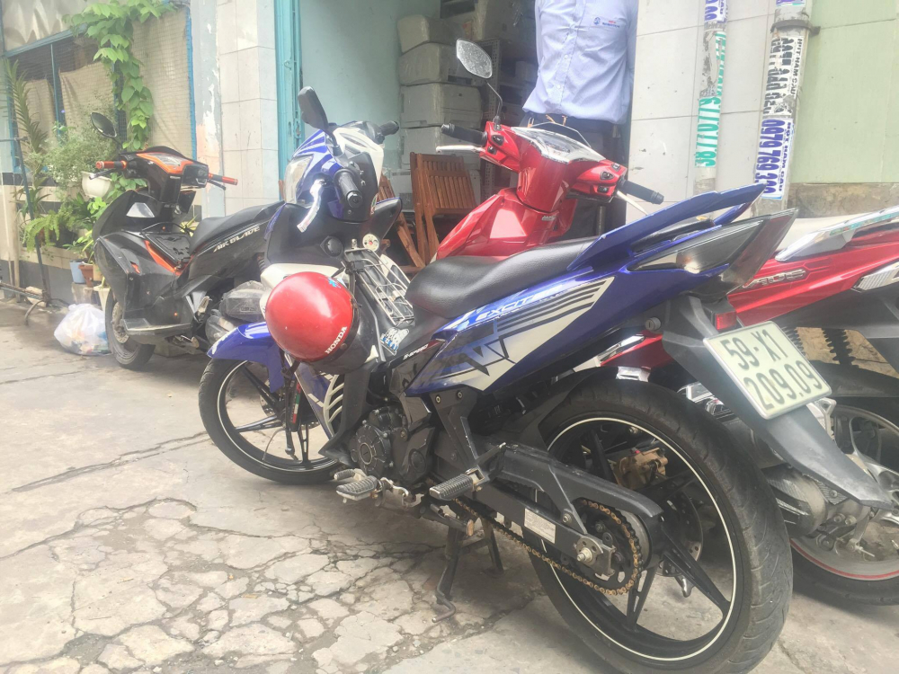 Ban xe exciter 135 GP