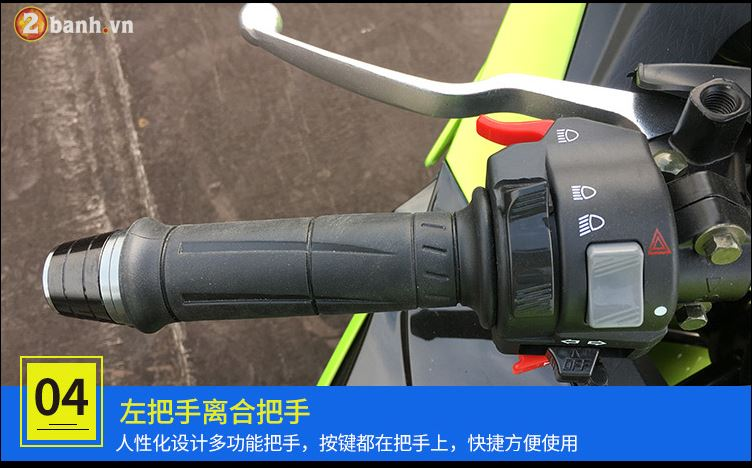 Choang ngop voi BMW S1000RR Made in China voi ten goi BD3505A - 10