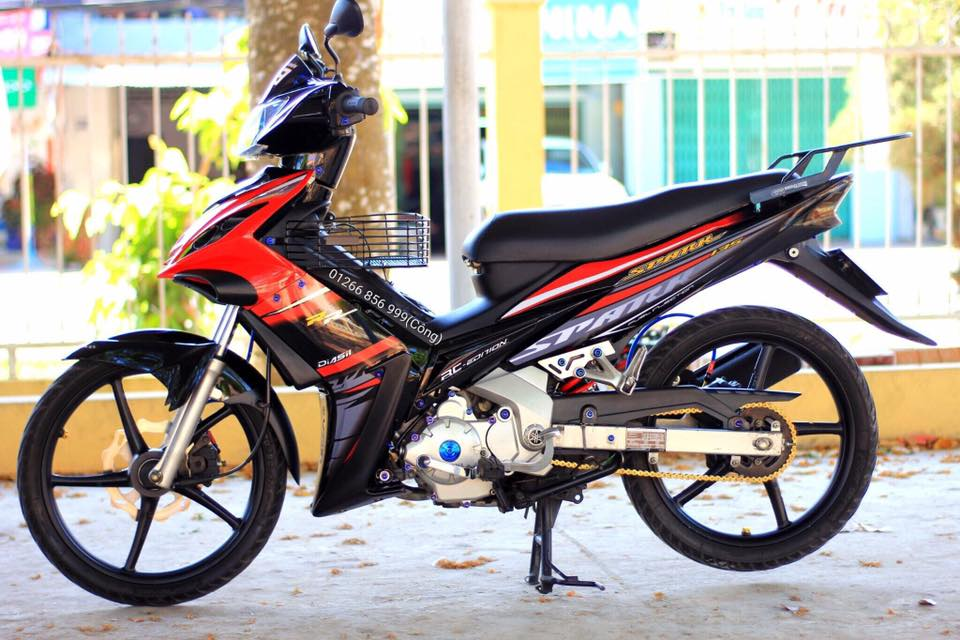 Exciter 135 do nhe khoe than cuoi con hem vang nguoi - 3