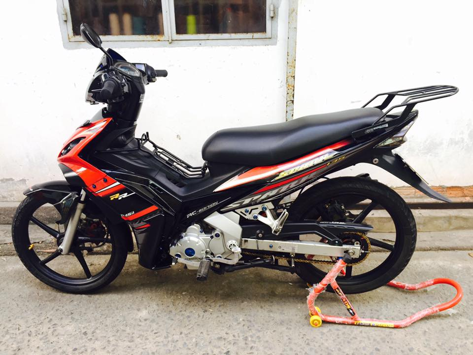 Exciter 135 do nhe khoe than cuoi con hem vang nguoi - 7