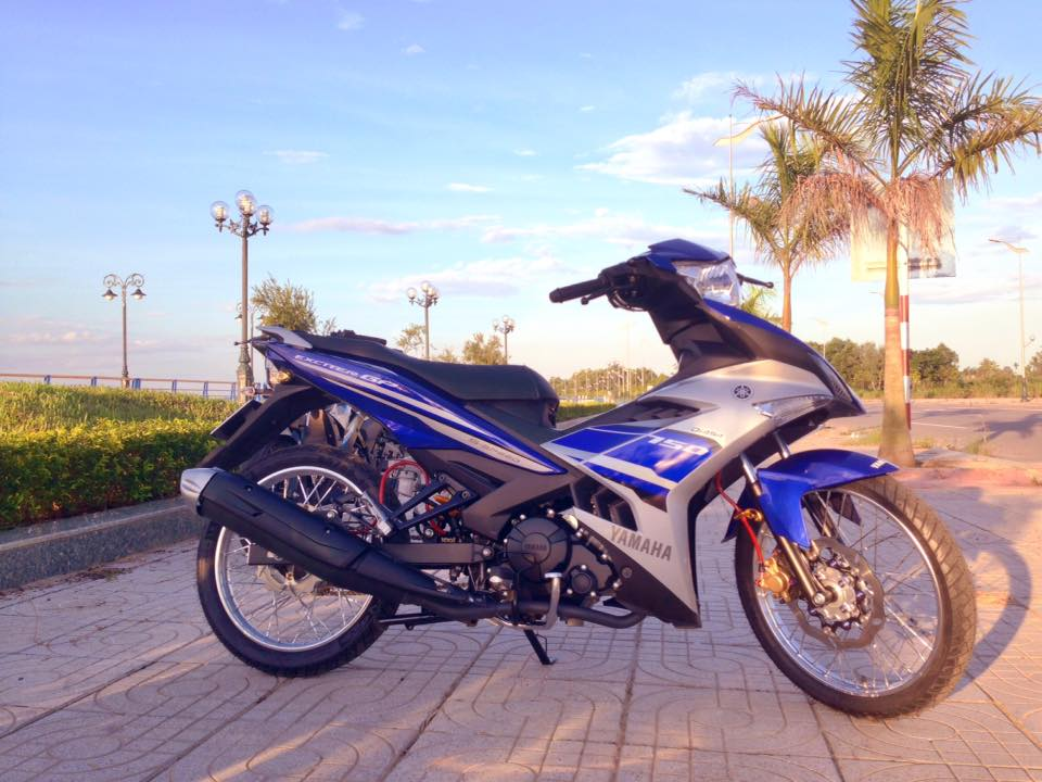 Exciter 150 do gon gang voi dan chan luoi lao than toc - 4