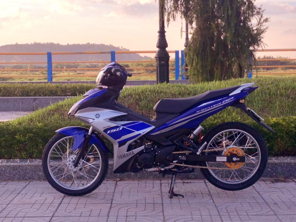 Exciter 150 do gon gang voi dan chan luoi lao than toc - 5