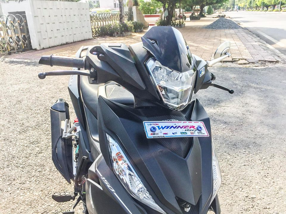 Honda Winner 150 do nhe voi doi hinh oc Proti cuc chuan - 4