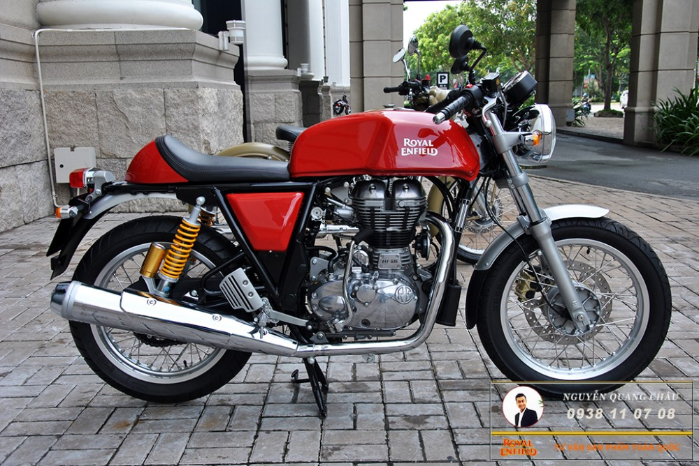 Royal Enfield Continental GT Red Mau Do
