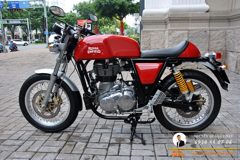 Royal Enfield Continental GT Red Mau Do - 7