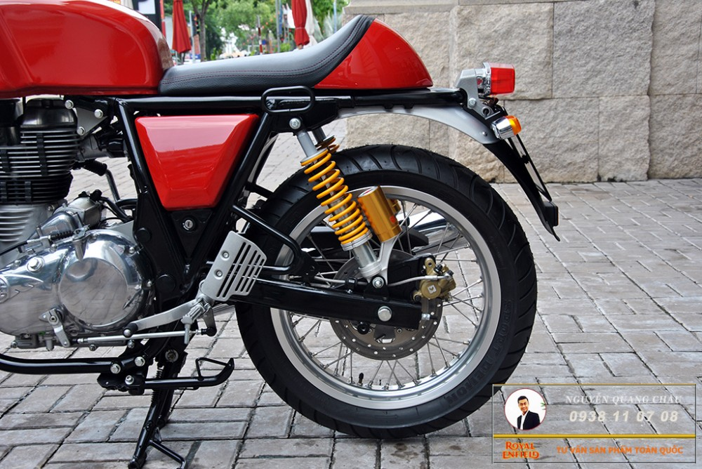 Royal Enfield Continental GT Red Mau Do - 9