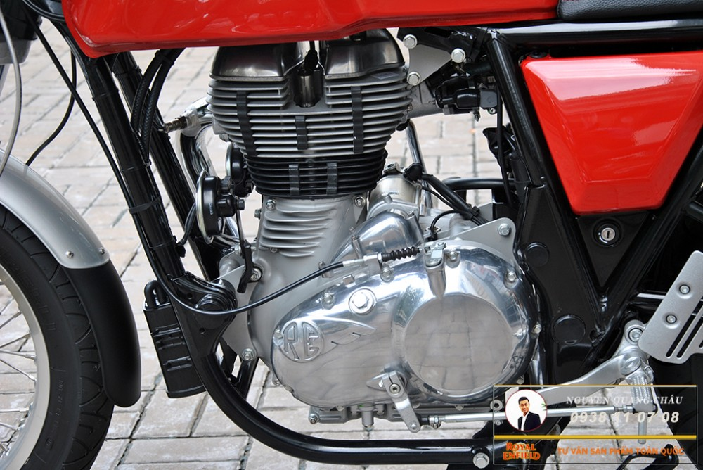 Royal Enfield Continental GT Red Mau Do - 11