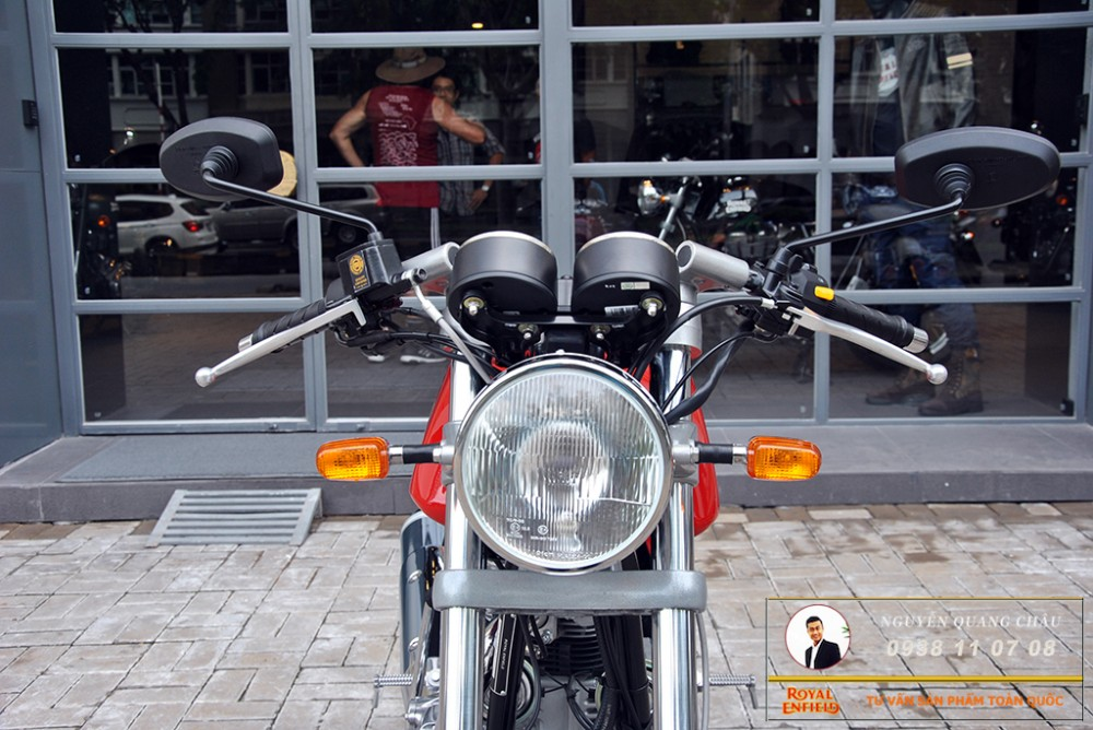 Royal Enfield Continental GT Red Mau Do - 13