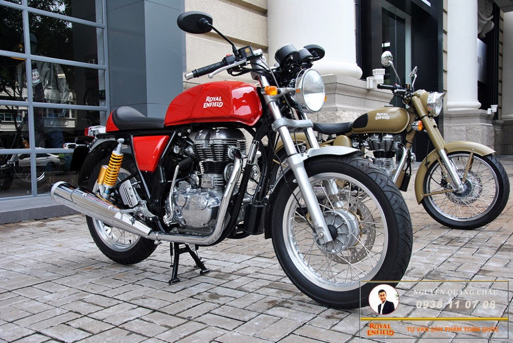 Royal Enfield Continental GT Red Mau Do - 15