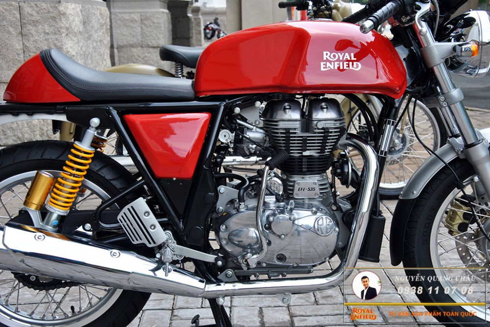 Royal Enfield Continental GT Red Mau Do - 17