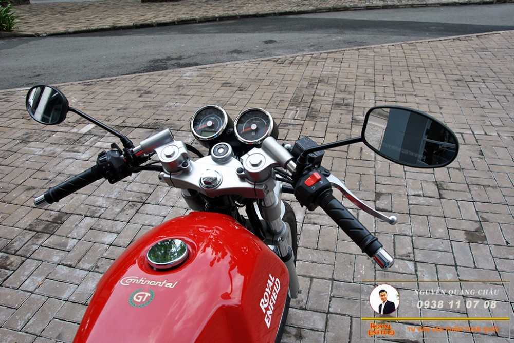 Royal Enfield Continental GT Red Mau Do - 19