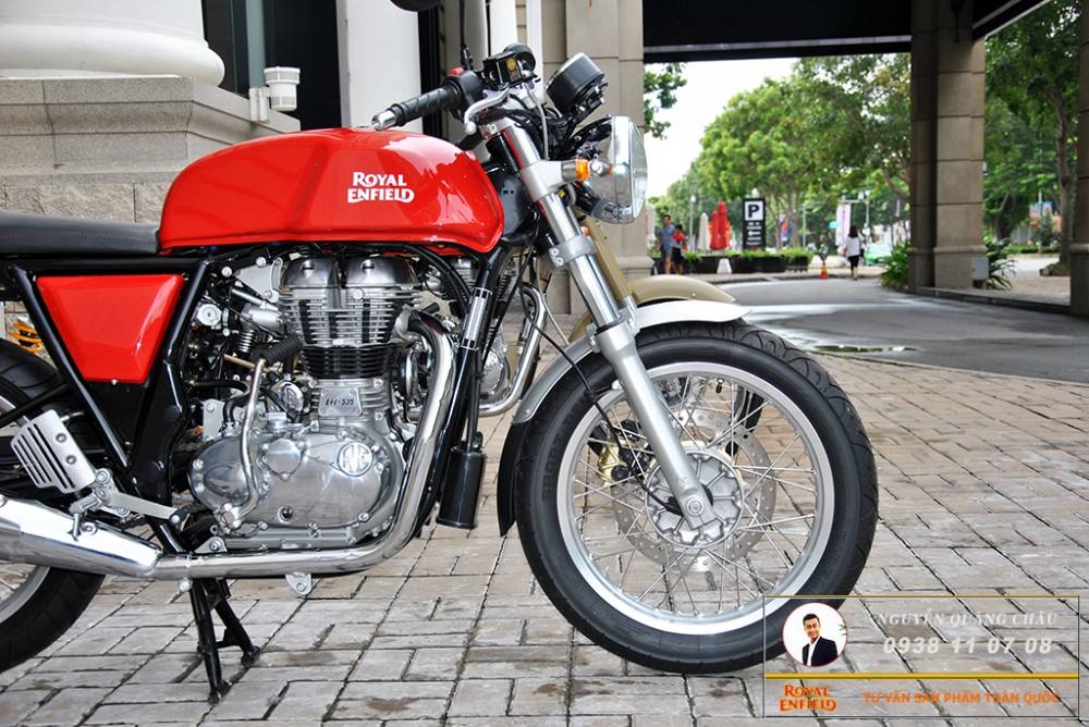 Royal Enfield Continental GT Red Mau Do - 21