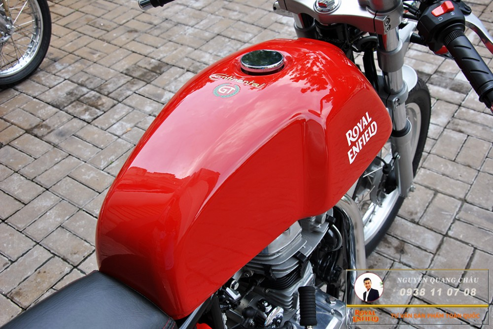Royal Enfield Continental GT Red Mau Do - 25