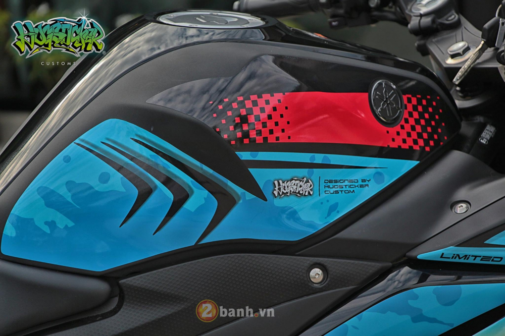 Yamaha R3 thoat xac day an tuong voi dien mao moi mang ten Angry Shark - 5