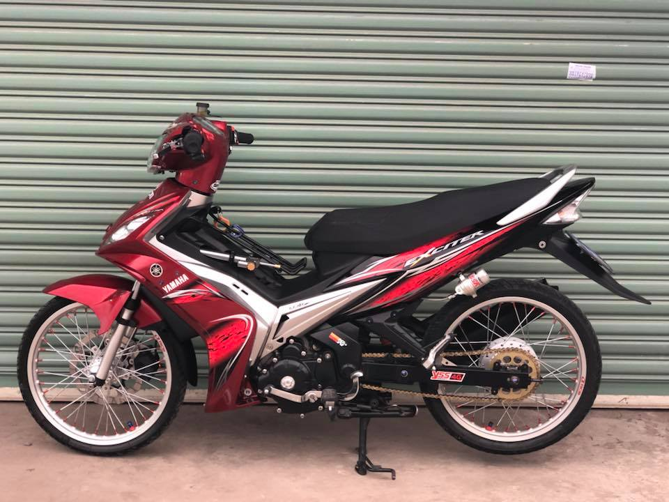 Exciter 135 do don gian voi tong do quy toc
