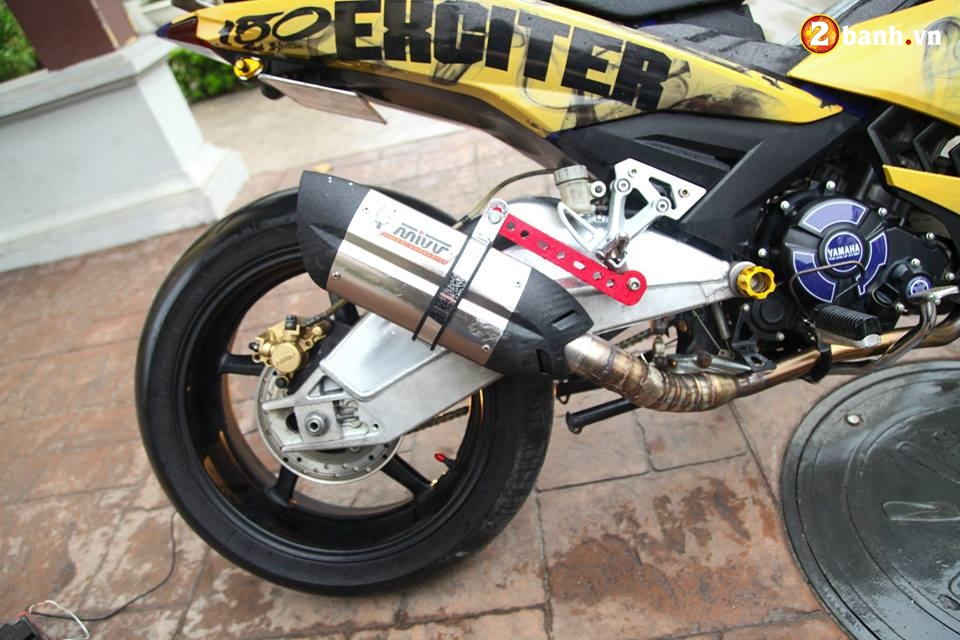 Exciter 150 do buc pha cach choi voi dan chan full Option PKL trong version Limited edition - 6