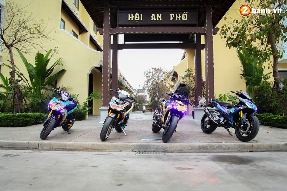 Exciter 150 do buc pha cach choi voi dan chan full Option PKL trong version Limited edition - 9