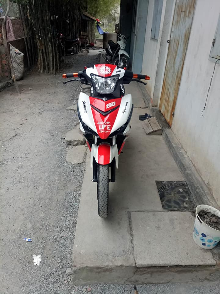 Exciter 150 do dep nhat day phong tro cua biker Dong Thap - 4