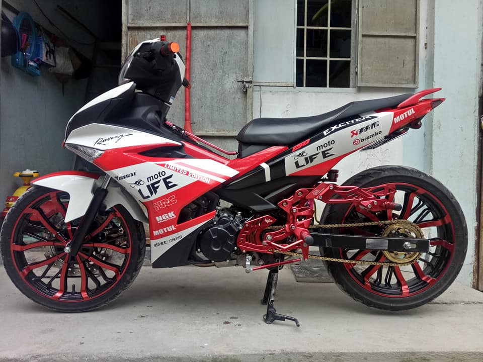 Exciter 150 do dep nhat day phong tro cua biker Dong Thap - 6