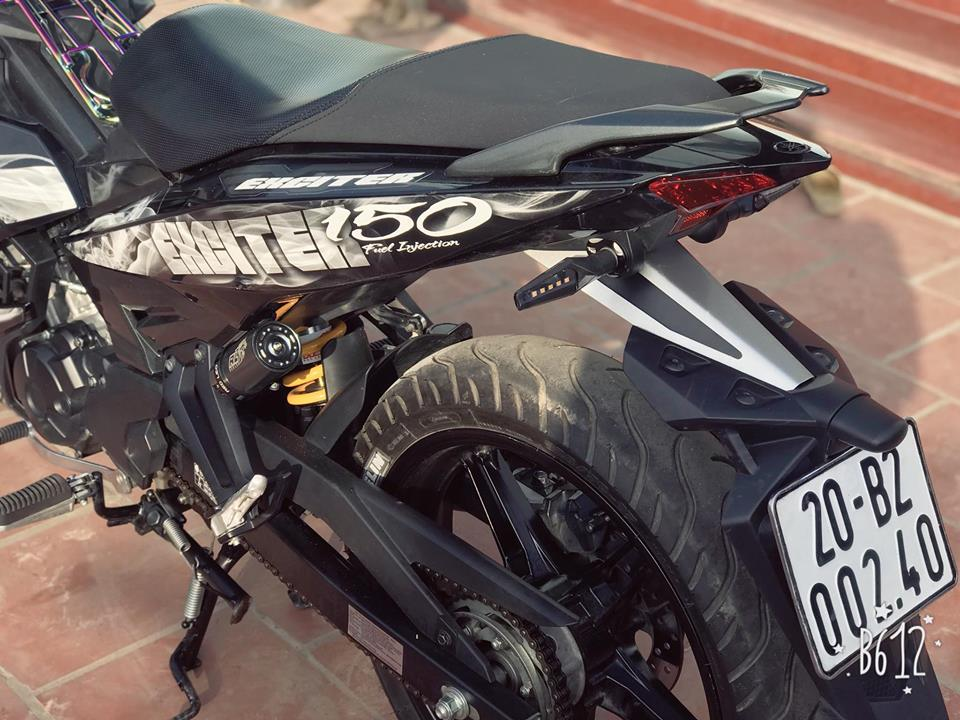 Exciter 150 do nhe nhang gay an tuong voi bo canh Limited Edition - 6