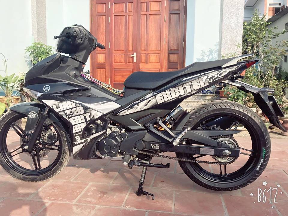 Exciter 150 do nhe nhang gay an tuong voi bo canh Limited Edition - 8