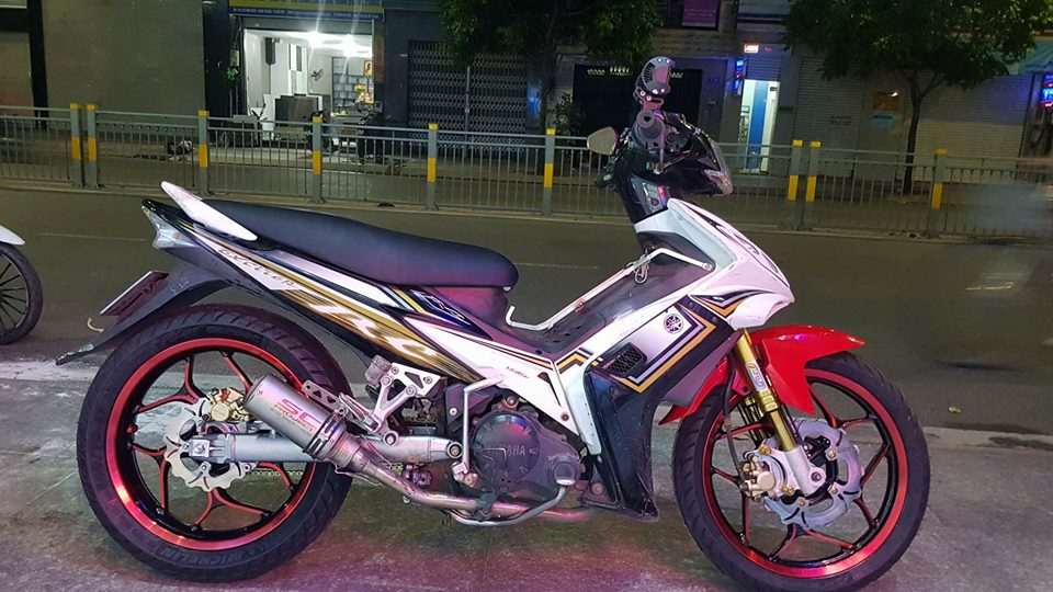 Exciter 2010 do cung cap voi dan chan full Option Exciter 150