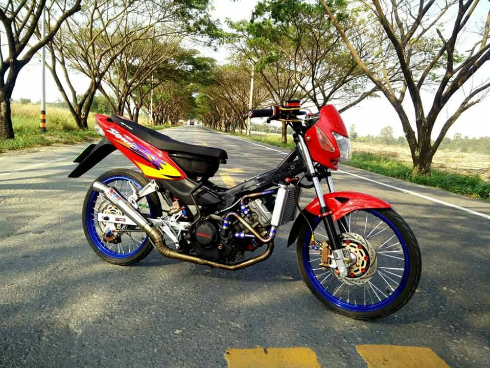 Sonic 125 do sieu chat voi than thai cuc tot cua biker Thailand - 3