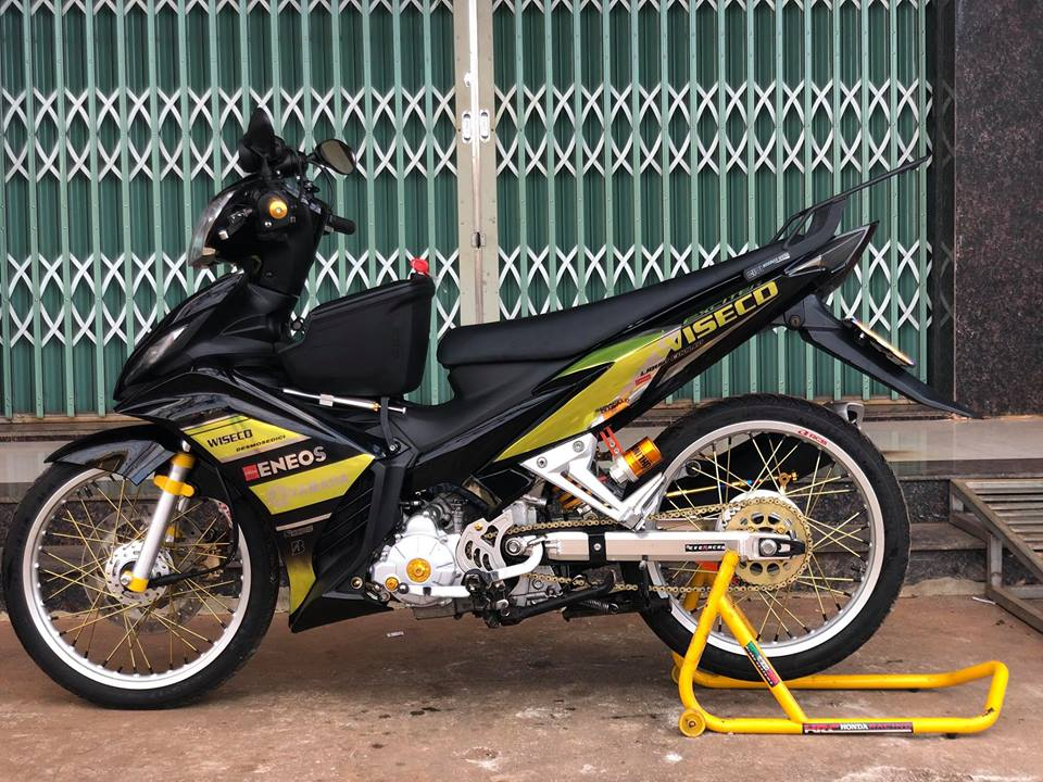 Exciter 135 do don nhe nhang voi ong xa nguoi em Ex150 - 8