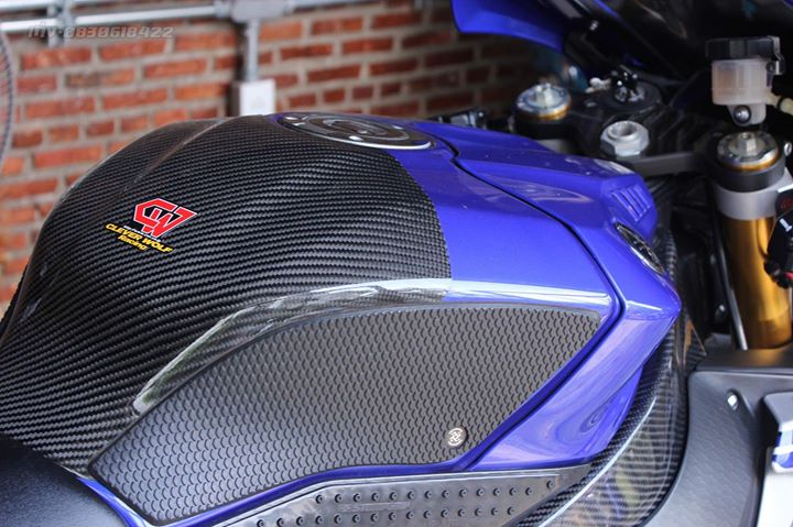Yamaha R1 Superbike do khung full option tai xu Thai - 6
