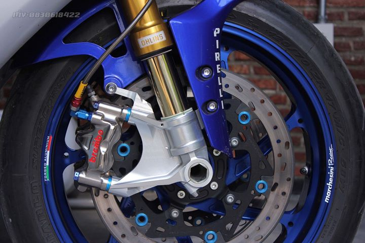 Yamaha R1 Superbike do khung full option tai xu Thai - 8