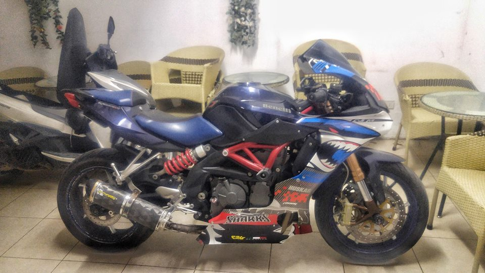 Benelli BJ600GS ban do day sang tao voi than hinh Yamaha R1