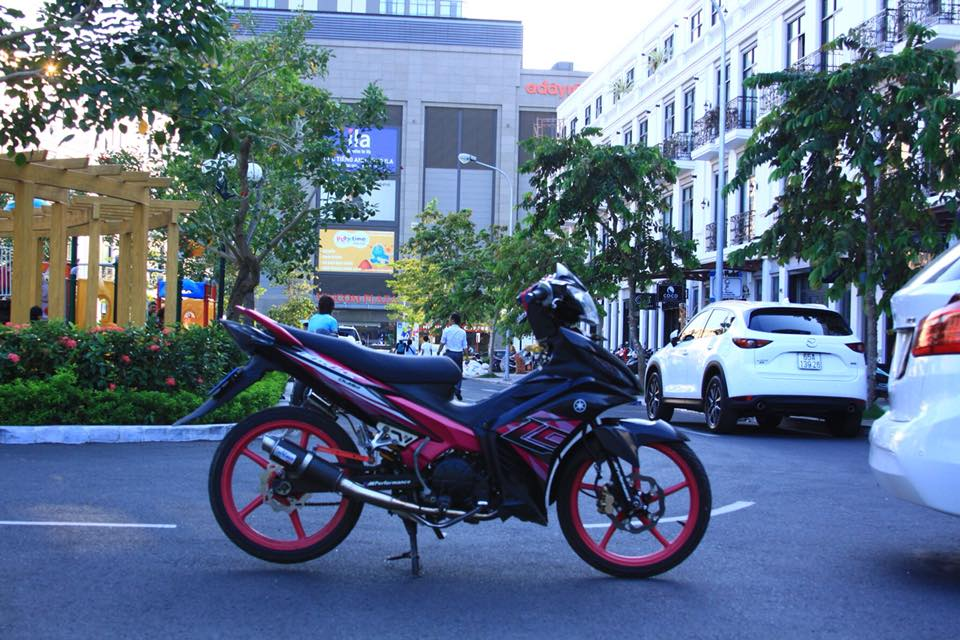 Exciter 135 do phong thai Lc135 dang hot hien nay