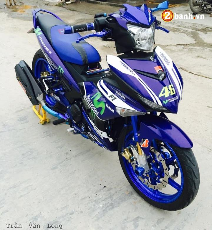 Exciter 150 do dam chat the thao trong phien ban Movistar - 4