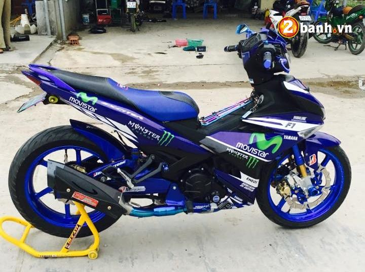 Exciter 150 do dam chat the thao trong phien ban Movistar - 8