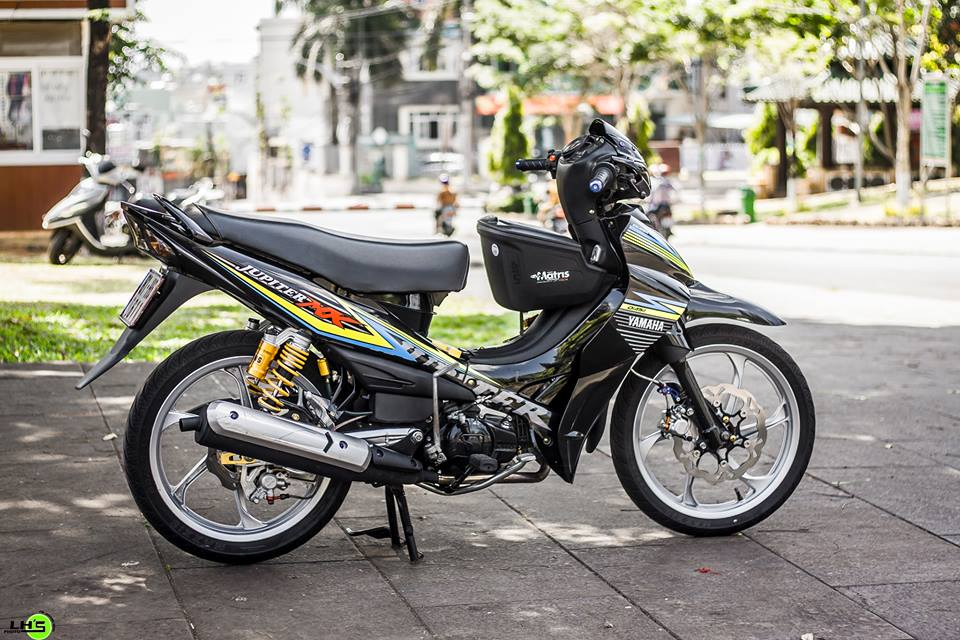 Jupiter 110 do Up ao Yaz day sang tao cua chang Biker Viet - 6
