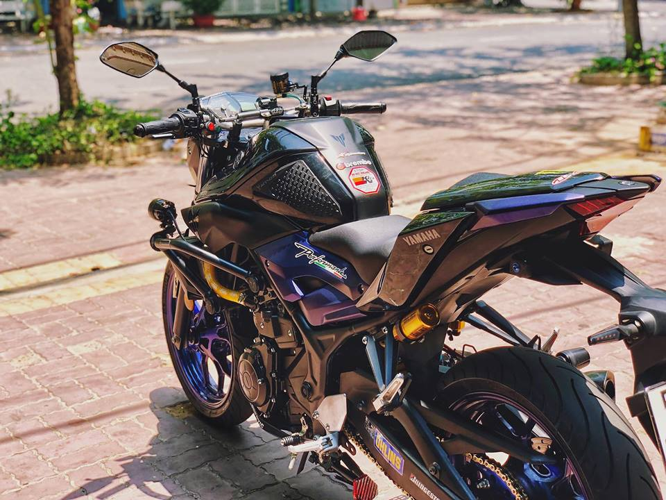 Ngam nhin Yamaha MT03 do full option tren dat Viet - 4
