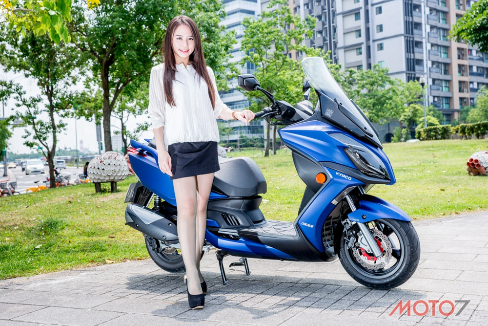 KYMCO G Dink 300i ABS the he moi 2018 - 21