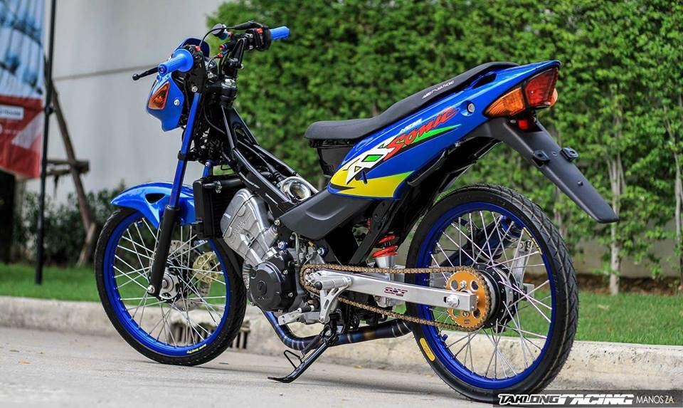 Sonic 125 do mang ve dep chat lu cua biker Thailand - 7
