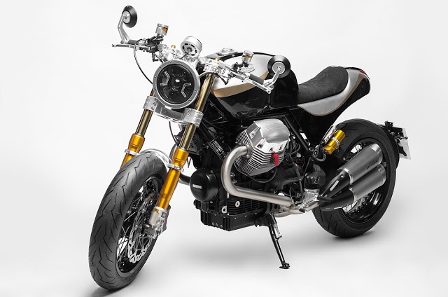 Moto Guzzi Bellagio ban do mang ten The Phoenix den tu South Garage
