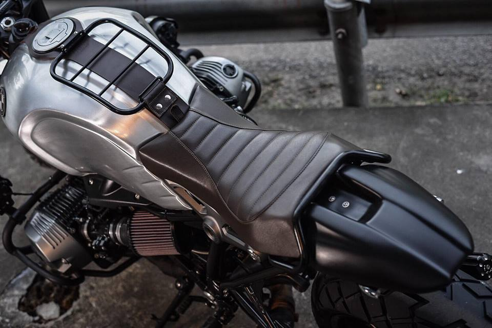 Bmw RnineT don theo phong cach Tracker style day me hoac - 8