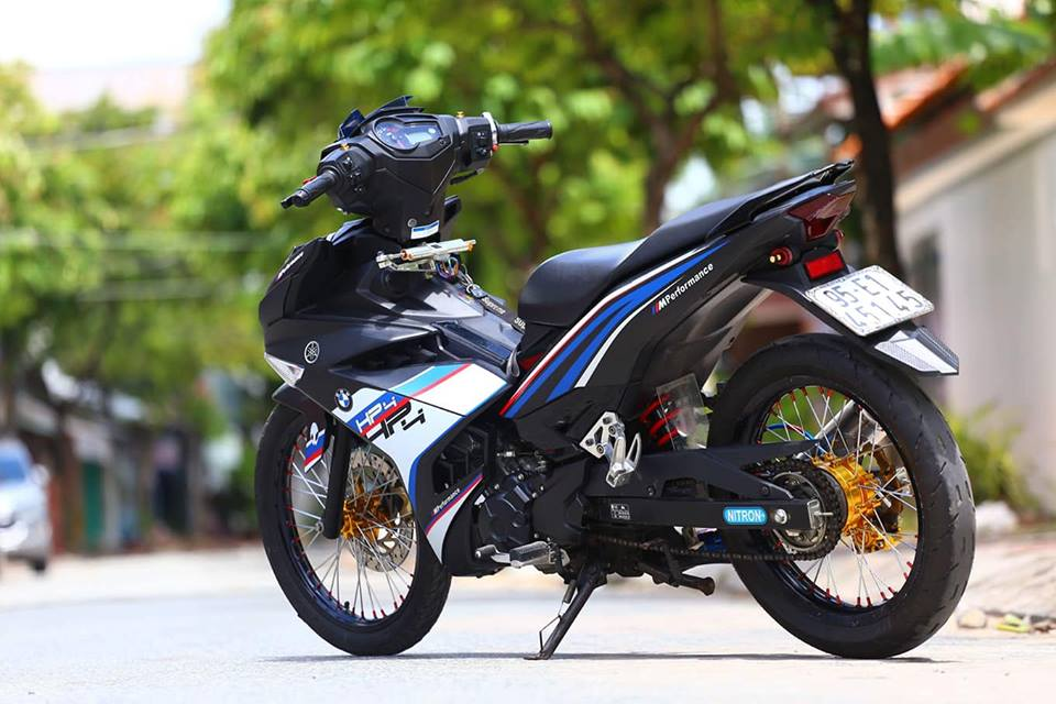 Exciter 150 do phong cach HP4 BMW day the thao - 6