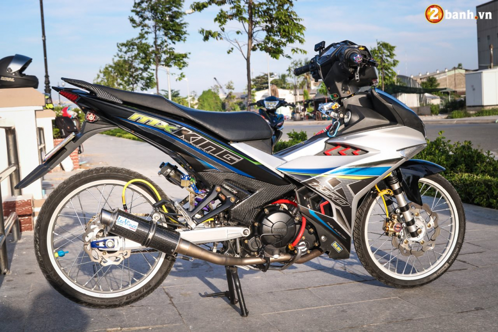 Exciter 150 do su gian don day lich lam voi phong cach MX King - 3