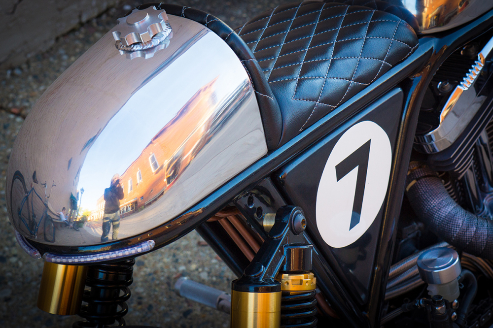 HARLEY SPORTSTER do an tuong voi phong cach CAFE RACER - 6