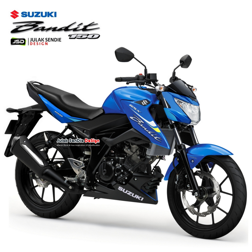 Suzuki Bandit 150 co the se ra mat vao 28 toi