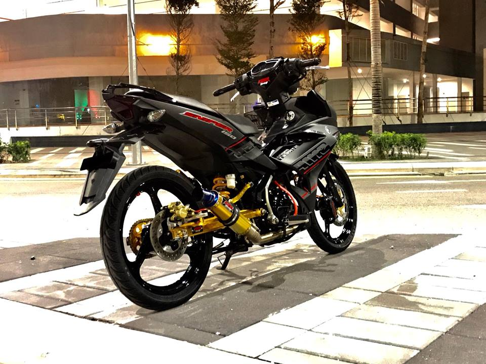 Yamaha Y15ZR do mam 3 dao cung phong cach Sniper 150 vo cung an tuong